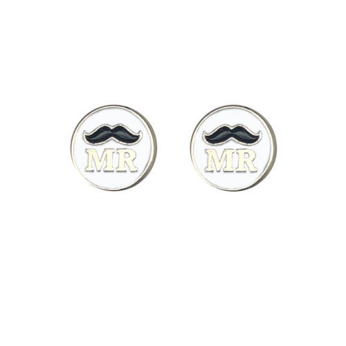 Mr & Mr Silver Wedding Charm