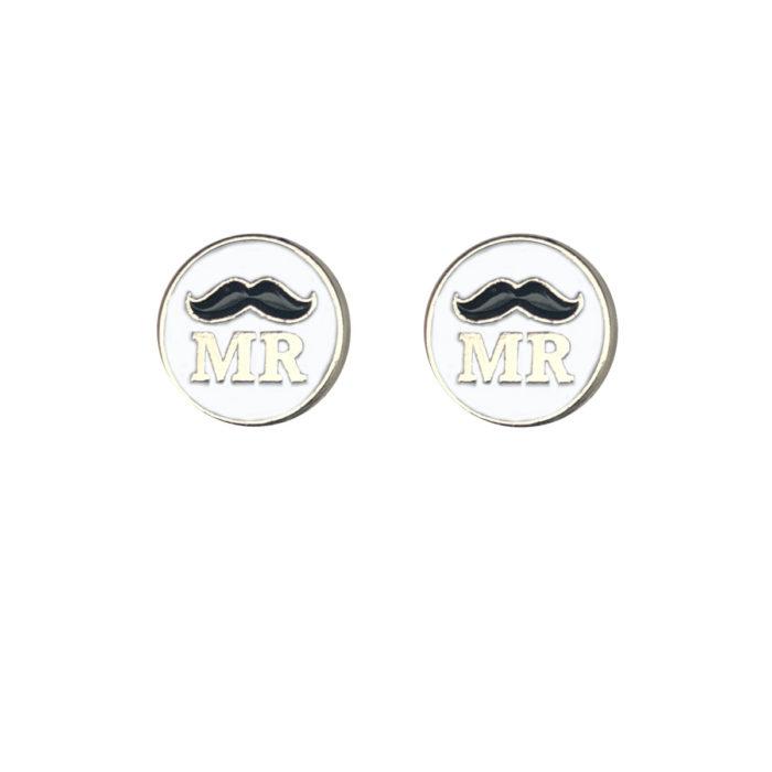 Mr & Mr Silver Wedding Charm