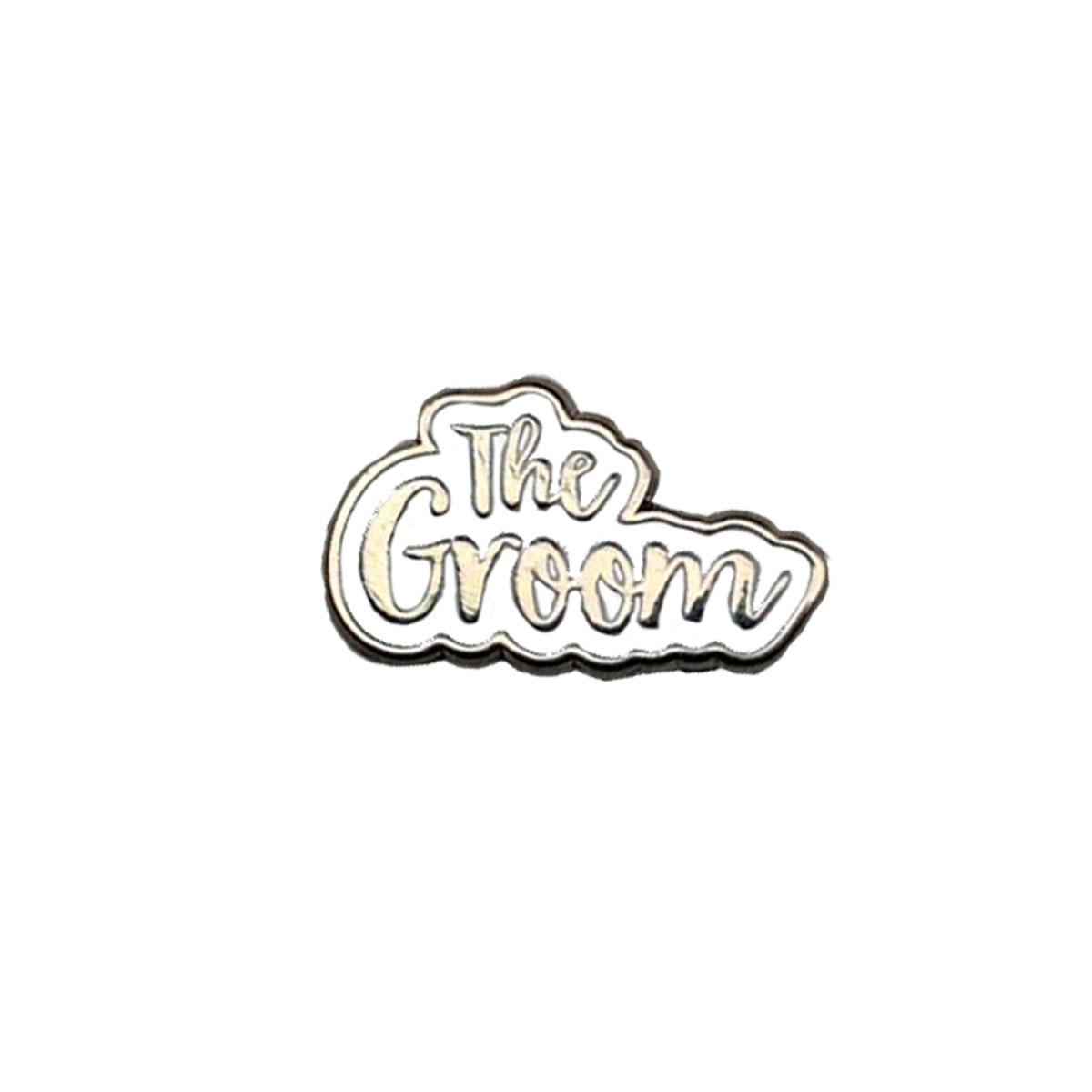 The Groom White Wedding