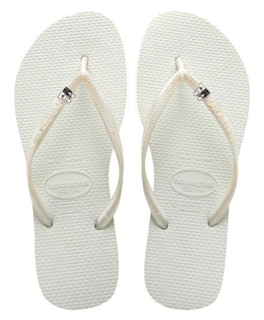 Bride & Groom Havaianas Wedding Flip-Flop Sandals