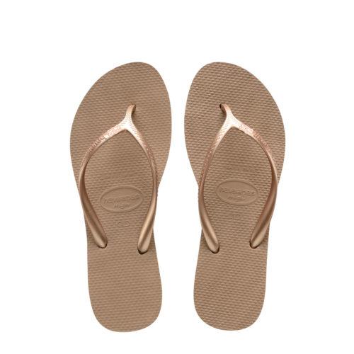 Havaianas Heel Rose Gold Flip-Flops Rose Gold Mother of the Groom