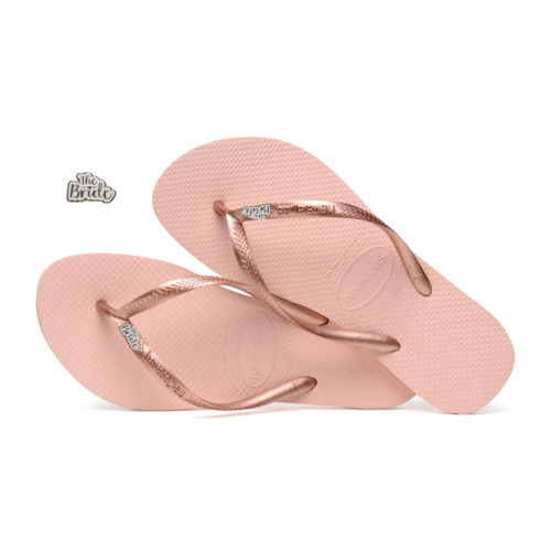'The Bride' Havaianas Slim Ballet Rose Flip-Flop