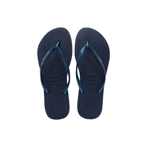 Havaianas Slim Navy Flip Flops Sandals Gift Customise