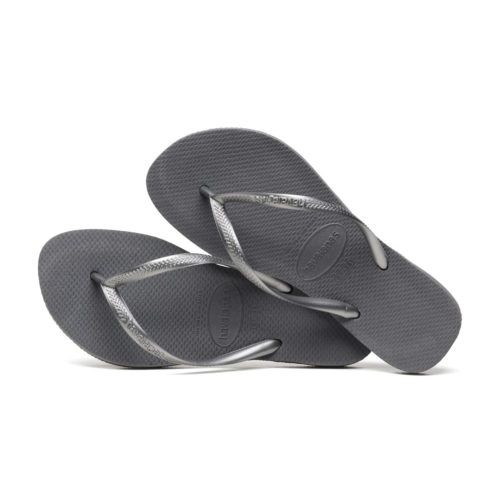 Havaianas Slim Steel Grey Flip Flops Sandals Gift