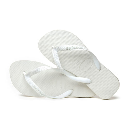 Havaianas White Top Unisex Flip Flops Wedding Gift