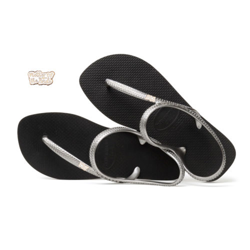 Rose Gold Mother of the Bride Pin Havaianas Urban Silver Flip Flops