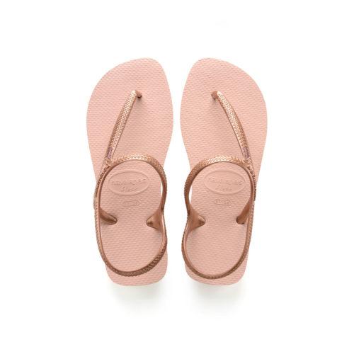 Pink Glitter Bridesmaid Charm Havaianas Urban Ballet Rose Flip Flops