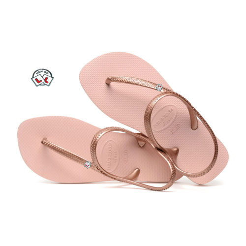 Hen Do Personalised Havaianas Urban Ballet Rose Wedding Flip Flops
