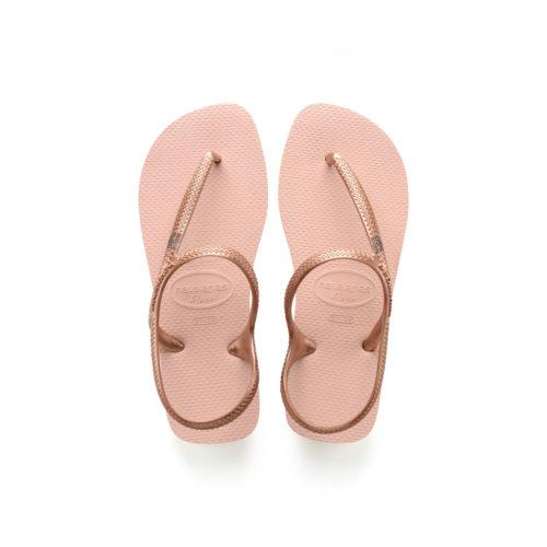 Mother of the Bride Pink Glitter Charm Havaianas Ballet Rose Flip Flops