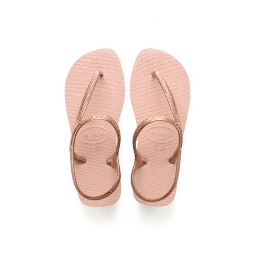 Havaianas Urban Ballet Rose Gold Flip Flops Sandals Gift