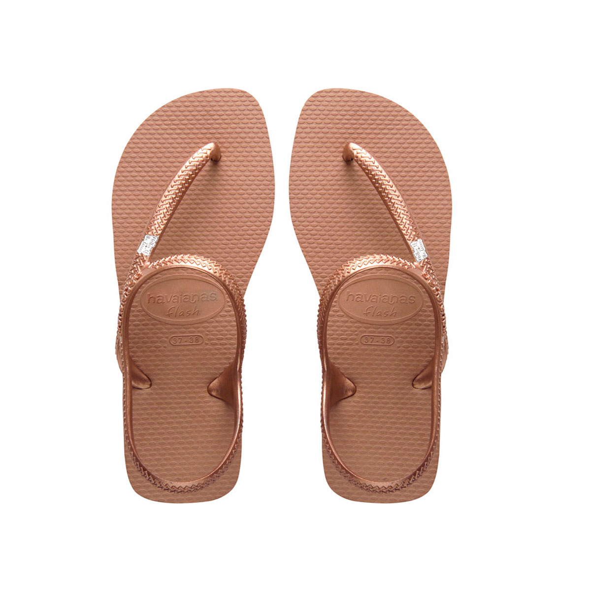 Mother of the Groom Silver Charm Havaianas Urban Rose Flip Flops