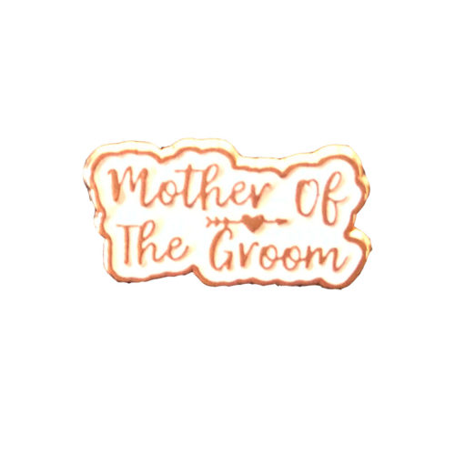Mother of the Groom Rose Gold Wedding Charm Gift