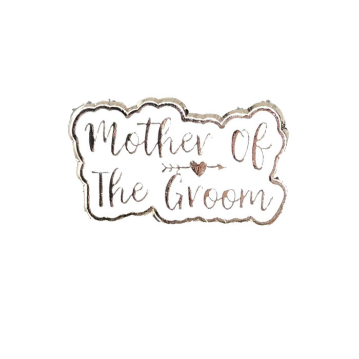 Mother of the Groom Silver Charm Wedding Gift